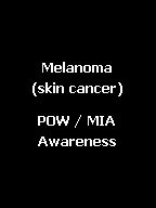 Click here for black awareness jewelry for Melanoma or skin cancer and POW/MIA.