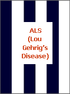 Click here to find navy blue and white awareness jewelry for ALS, Amyotrophic Lateral Sclerosis or Lou Gehrig's Disease.
