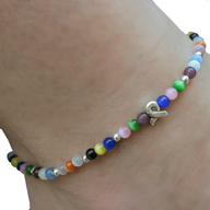 Anklet representing all cancers and causes.